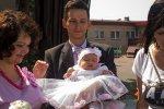 ubrana do chrztu dla niemowląt