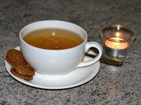 filiżanka herbaty białej