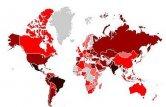 Globalna mapa infekcji